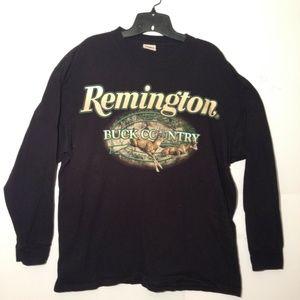 Remington Buck County Graphic Design T-Shirt